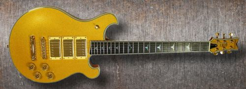 """Gold Dust Shaman"" Custom Gold Top Guitar"